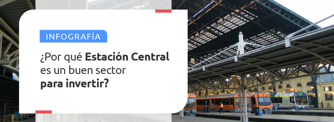 Estación Central es un buen sector para invertir