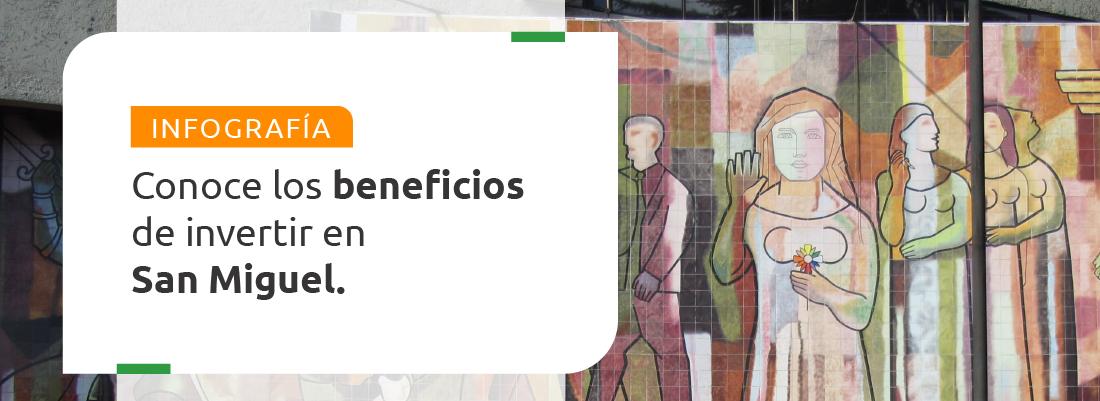 INFOGRAFÍA: Conoce los beneficios de invertir en San Miguel