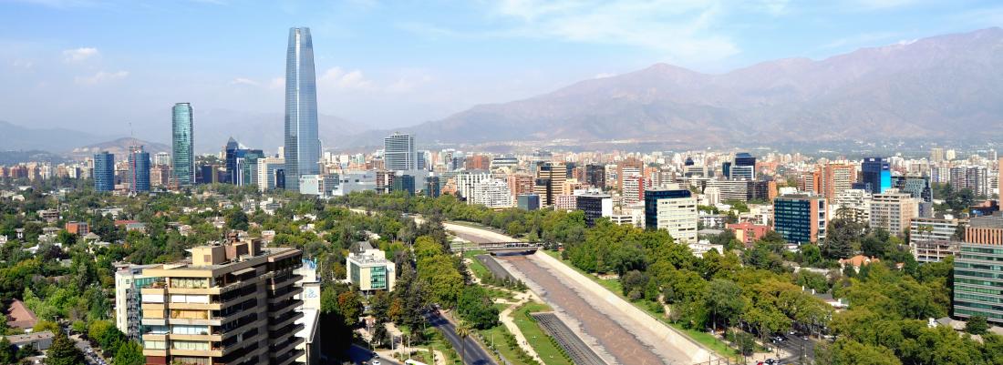 Datos del Gran Santiago sobre entorno urbano